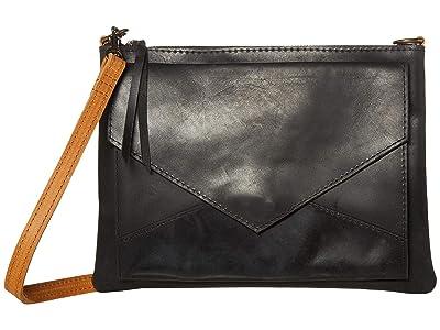 ABLE Solome Crossbody (Black/Cognac) Cross Body Handbags
