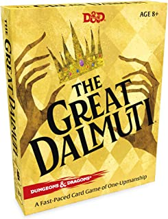 The Great Dalmuti: Dungeons & Dragons | D&D Card Game | 4–8 Players | Ages 8+