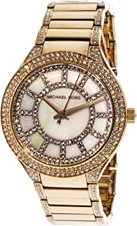 Michael Kors Women's Kerry MK3313 Rose-Gold Stainless-Steel Plated Japanese Quartz Fashion Watch