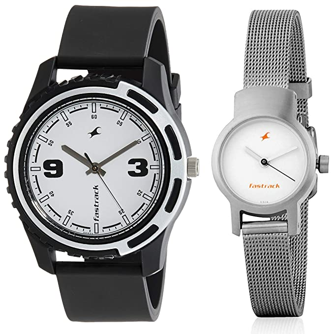Fastrack Analog White Dial Men's, Women's Watch Men's Wrist Watches