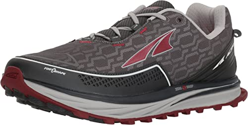 Altra Altra Altra Hommes's TIMP iq Trail Runner, Charcoal rouge, 12 M US 388
