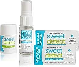 Sweet Defeat Starter Pack (2 Packs Gum, 1 Spray & 30 Count Spearmint Lozenges)