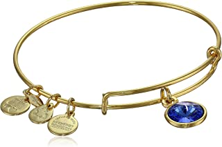 Bangle Bar Imitation Birthstone Bangle Bracelet, 2.75