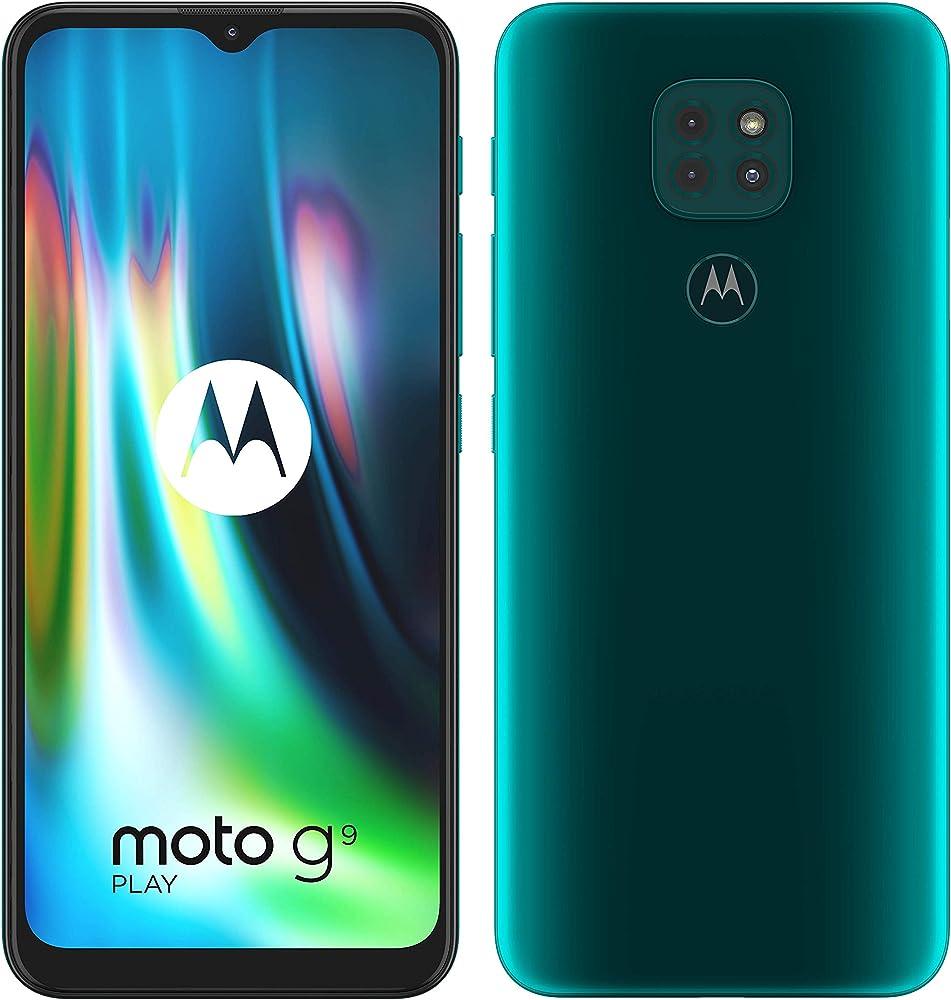 Motorola moto g9 play tripla fotocamera octa-core qualcomm snapdragon 662, dual sim