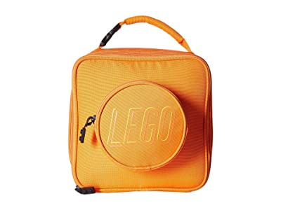 LEGO Brick Lunch Bag (Orange) Duffel Bags