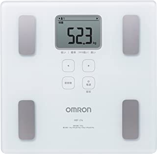 New! Omron Weight Scale Body Composition Meter Body Scan White HBF-214-W Japan