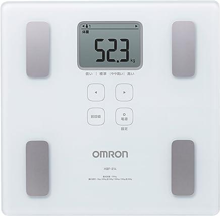 オムロン 体重?体組成計 カラダスキャン ホワイト HBF-214-W