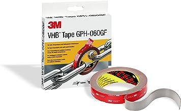 3M GPH-060F19-3 VHB hoogwaardige plakband, 19 mm x 3 m, 0.6 mm, grijs, 1