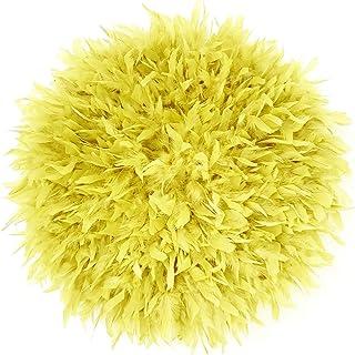 Juju hat amarillo, Juju hats decoración pared, Juju hat, Jujuhat, Juju hats, Plumas decoración hogar, Decoración hogar, Ju...