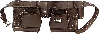 Rolson 68885 - Petróleo Tan Doble Cinturón De Herramientas