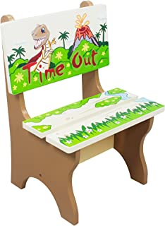 Silla time out de madera Dinosaur Kingdom de Fantasy Fields TD-0078A
