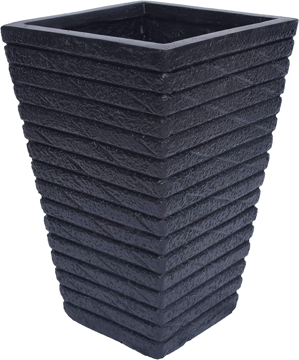 Great Deal Furniture Hedy Garden お買得 R Tapered Planter Square Urn 信頼