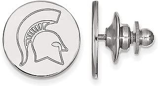 LogoArt Michigan State University Spartans Lapel Pin