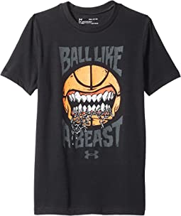 Ball Like A Beast Short Seelve Tee (Big Kids)