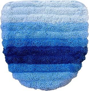 オカ(OKA) ふたカバー ブルー (洗浄・暖房・U・O型兼用) フレッシュデオ ドレニモタイプ (清潔 消臭 におわない)