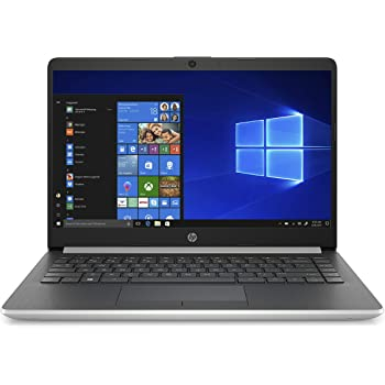 Amazon Com Hp 14 Inch Laptop Amd A9 9425 Processor 4 Gb Sdram 128 Gb Hard Drive Windows 10 Home In S Mode 14 Dk0010nr Natural Silver Computers Accessories