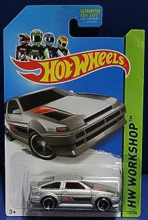 Hot Wheels Workshop 222/250 - Toyota Corolla AE-86 - Silver