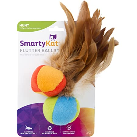 SmartyKat Cat Toys with Feathers