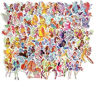 70Pcs Cartoon Winx Club Waterproof Stickers for Laptop Stickers Motorcycle Bicycle Skateboard Luggage Decal Graffiti Patches
