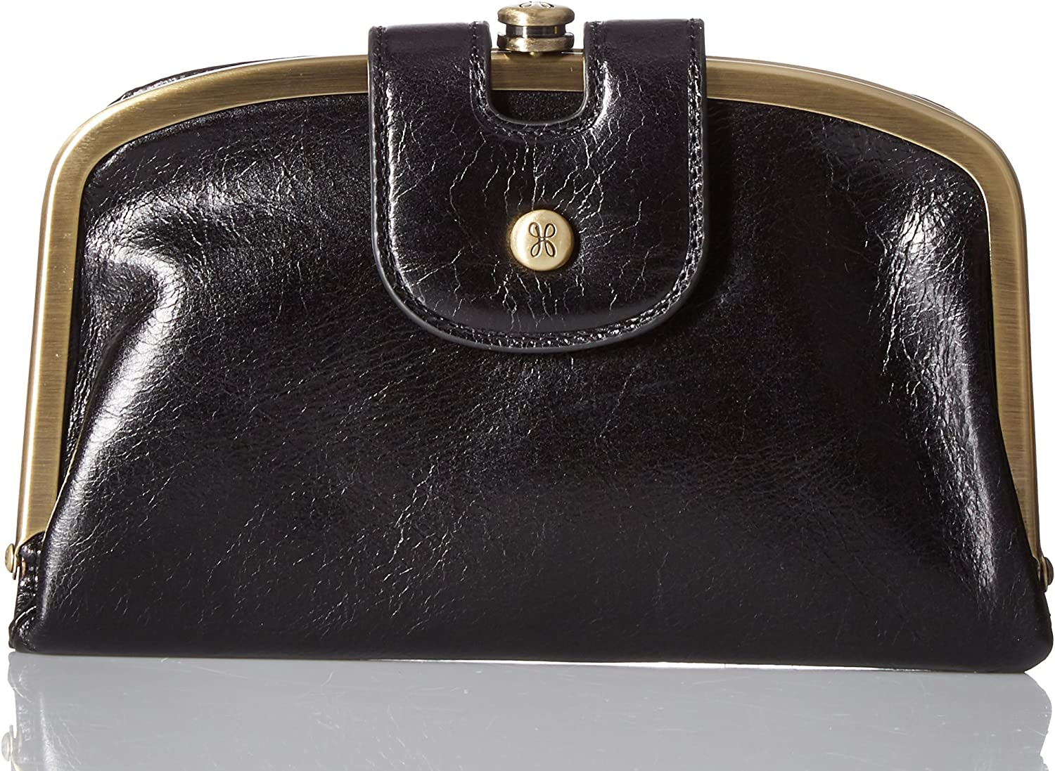 Hobo Womens Halo Vintage Leather Compact Wallet