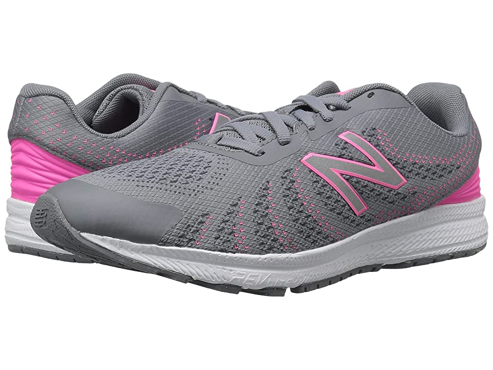 New Balance Kids FuelCore Rush v3 (Big Kid) (Grey/Pink) Girls Shoes