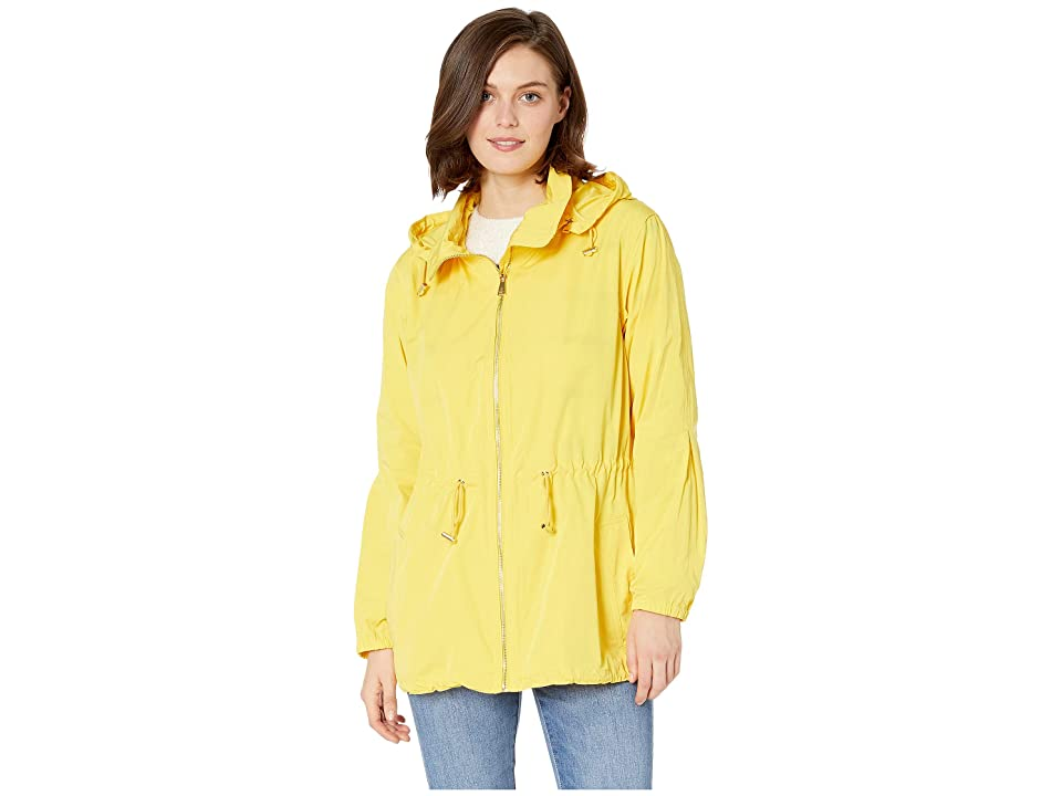 LAUREN Ralph Lauren Water-Repellent Zip Jacket (Regatta Yellow) Women