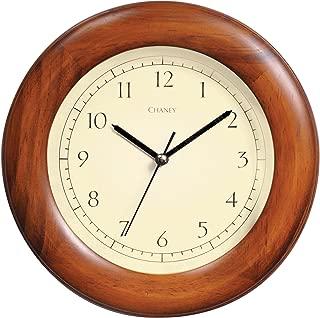 Chaney 75171 8-inch Poplar Wood Wall Clock