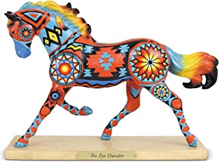 """Enesco Trail of Painted Ponies """"The Eye Dazzler, 6.5"""" Stone Resin Figurine, Multicolor (6001101)"""