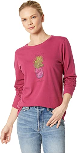 Pineapple Love Crusher Long Sleeve T-Shirt