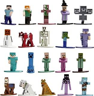 Jada Toys Minecraft 20 Pack Wave 2 Die-Cast Figure, 1.65