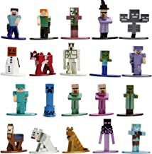 "Jada Toys Minecraft 1.65"" Die-cast Metal Collectible Figurine 20-Pack Wave 2, Toys for Kids and Adults, Multi (30770)"