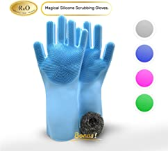 R&O Magical Gloves Are The Ultimate Non-Stick Silicone Gloves For Dishwashing And Other Uses, Magical Rubber Gloves Are Great For Car Wash, A Pet Wash Mitt And Are The Gloves You Want When You Need ST