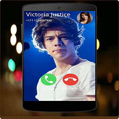 Harry Styles Full Screen Photo Call Receiver