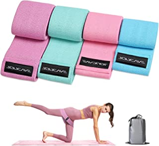 Evaduol by Amazon - Resistance Bands for Legs and Butt - Resistance Bands Set 4 Different Multicolor Workout Bands for Per...