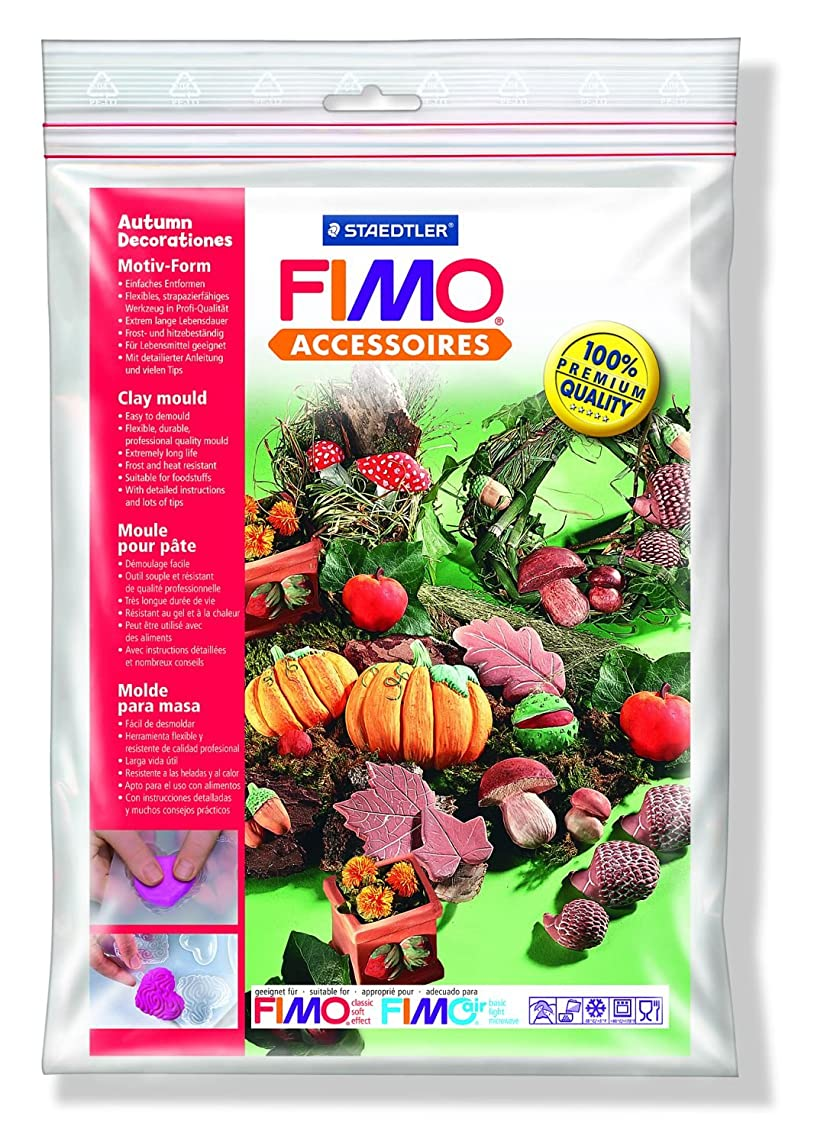 AUTUMN DECORATIONS Fimo Clay Moulds Shapes