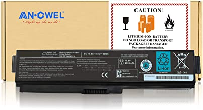 Angwel 10.8V 98WH Toshiba PA3819U-1BRS Replacement Laptop Battery for Satellite A655 A660 L600 M500, Satellite Pro C650 C6...