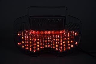 Topzone lighting clear lens MOTORRAD LED Rücklichter Rücklicht mit integrierten Blinker Lampe Indikatoren für Suzuki 2000 2005 Bandit 600; 2001 2005 Bandit 1200