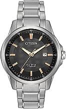 Citizen Men's Eco-Drive Titanium Watch with Date, AW1490-50E