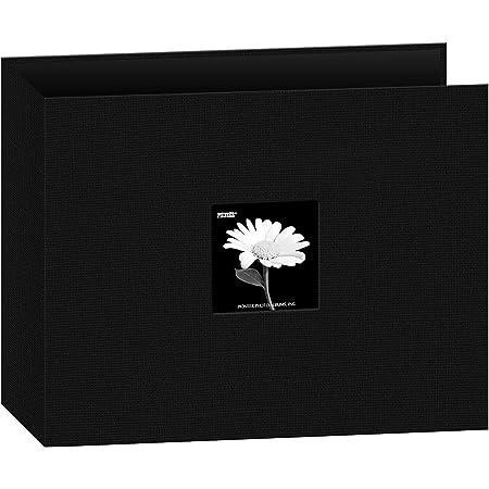 Pioneer Album classeur 3Anneaux Tissu 30,5x 30,5cm, Noir
