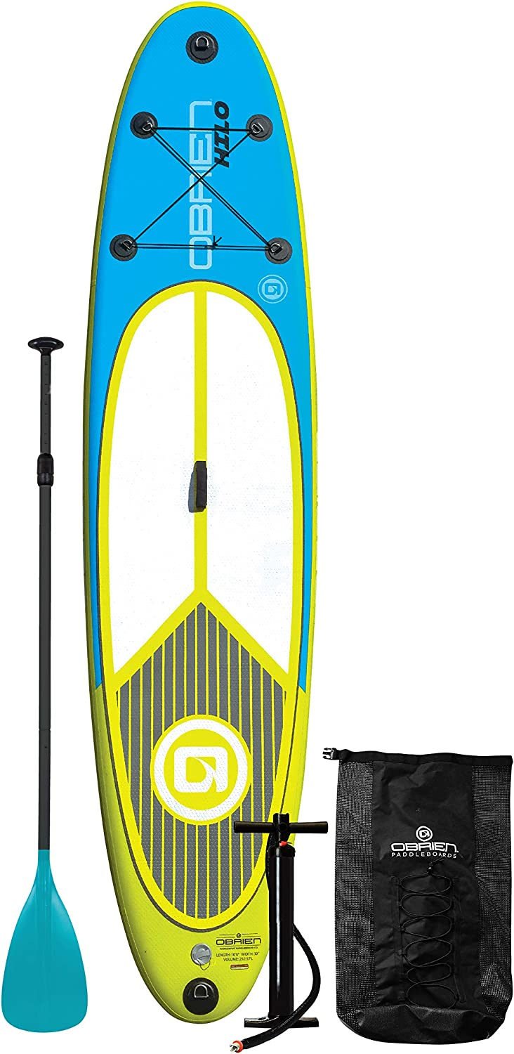 O'Brien Hilo Inflatable Stand Up Paddle Board Kit 10'6