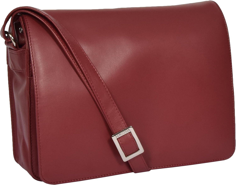 A1 FASHION VAROR VAROR VAROR kvinnor röd läder Shoulder väska Ladies Flap Over Cross Body Messenger  grossistaffär
