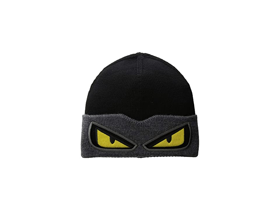 Fendi Kids - Fendi Kids Monster Eyes Knit Hat
