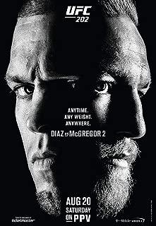 Conor McGregor Vs Nate Diaz UFC 202 MMA Promo 01 Poster No Frame (11 X 17)