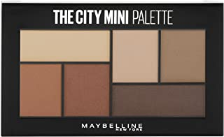 Maybelline New York The City Mini Eyeshadow Palette Makeup, Brooklyn Nudes, 0.14 oz.