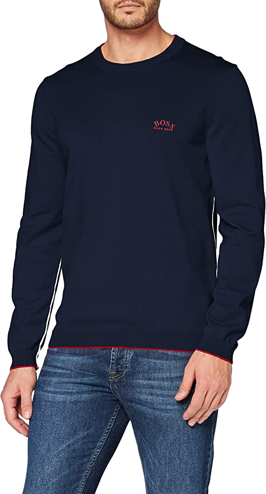 Hugo boss, pullover,felpa per uomo,100% cotone  50440679N