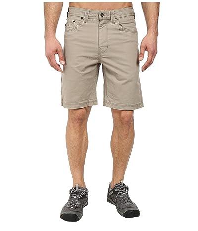 Prana Bronson 9 Short (Dark Khaki) Men