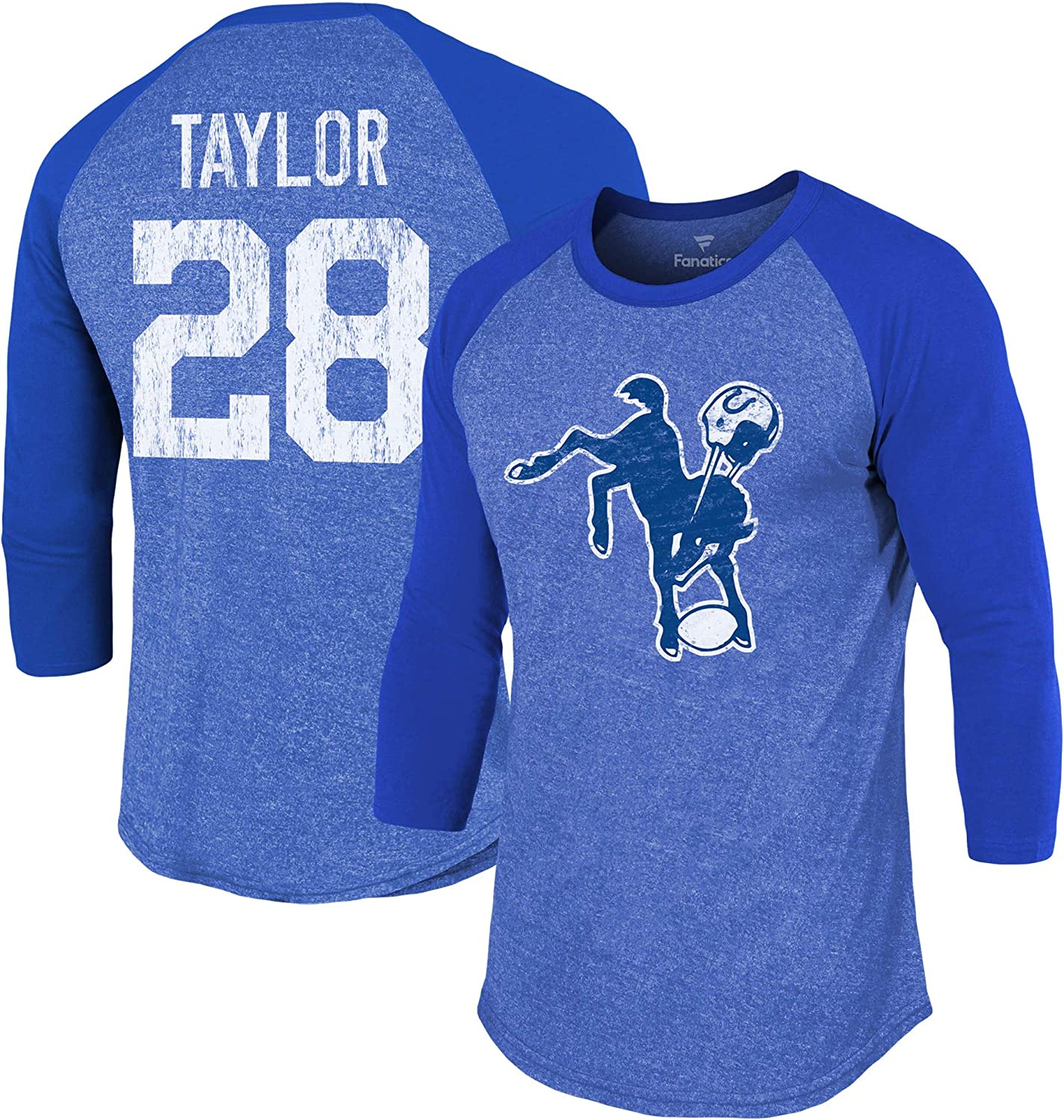 Fanatics Men's Jonathan Taylor Royal Free 67% OFF of fixed price shipping on posting reviews Indianapolis Team Pla Colts