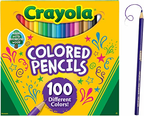 new arrival Crayola Colored Pencils Adult Coloring Set, Gift, new arrival 100 popular Count sale
