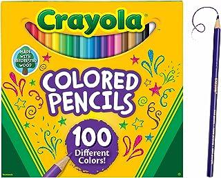 مداد رنگی مختلف Crayola، تعداد 100 عدد، رنگ آمیزی بزرگسالان