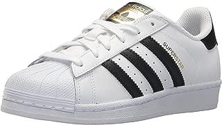 Junior's Superstar Sneaker, Core Black/White, 5